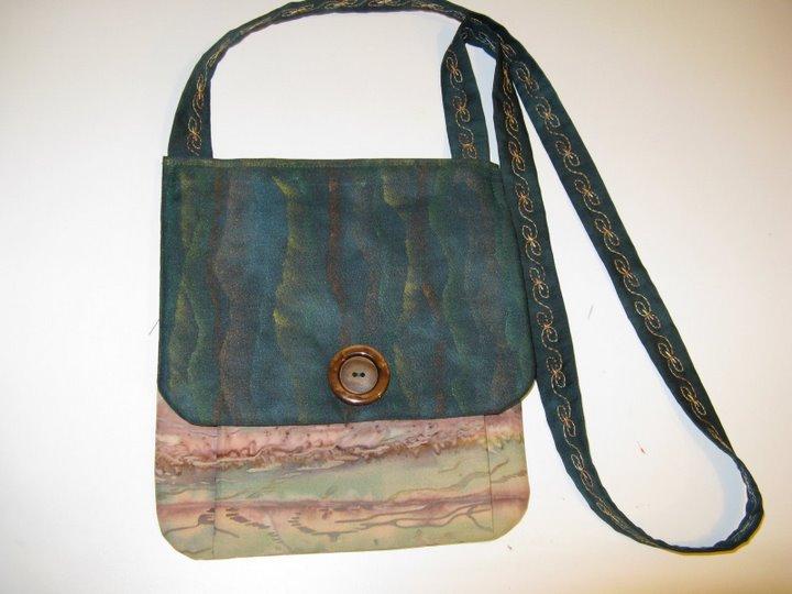 Sassy Bag with soft stripes