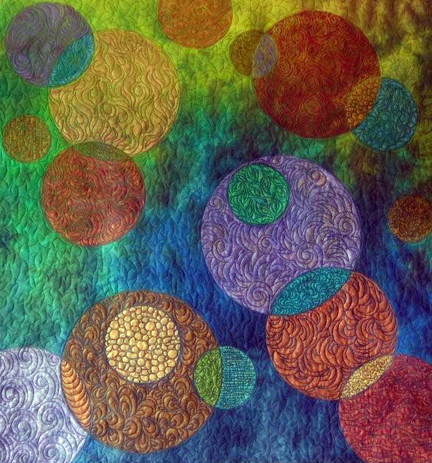 Circles Quilt by Sue Kelly