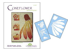 Coneflower Pattern & Stencils