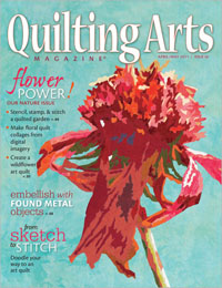 Quilting Arts 50 Cover