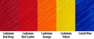 Exploring Matte Colors 3: Bold & Bright