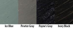 Exploring Matte Colors 1: Naturally Neutral