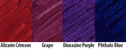 exploring matte colors 4: deep darks - cedar canyon textiles