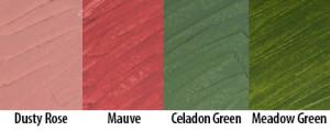 Exploring Matte Colors 5: Dusty Colors