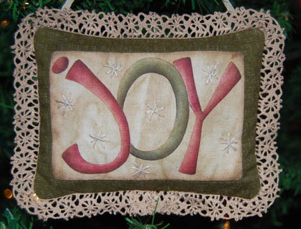 Joy Ornament: Whimsicals Quilts