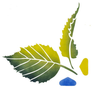 Add Autumn Leaves To Your Art With Paintstiks & Stencils