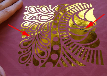 Outrageous Idea Transfer Foil To Paper With A Laser