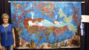 Mermaids Dream — And Shelli Ricci's Quilts Sing!