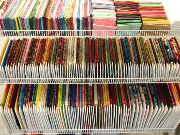 Storage Idea for fabric stash