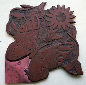 Linoleum Prints #3: A Peek At The Past