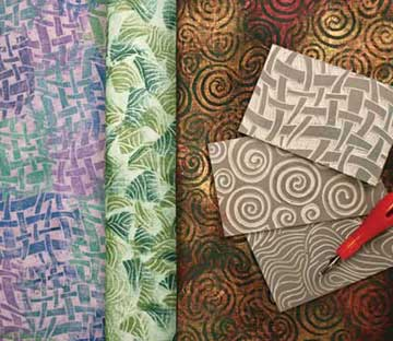 Lino-blocks-plus-fabric
