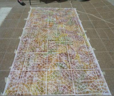 Paintstik-rubbings-on-tile-patio