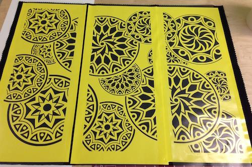 test-design2-stencils-on-fabric