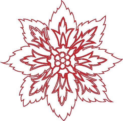 flower-stencil-design