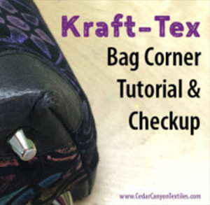 A Kraft-Tex Bag Corner Tutorial