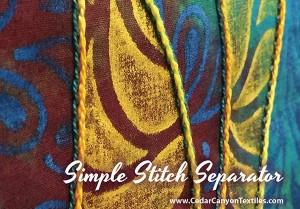 A Simple Stitch Separator