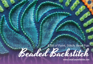 Add Texture And Sparkle With Beaded Backstitch