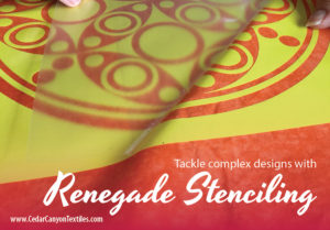 Renegade Stenciling At A Birthday Bash