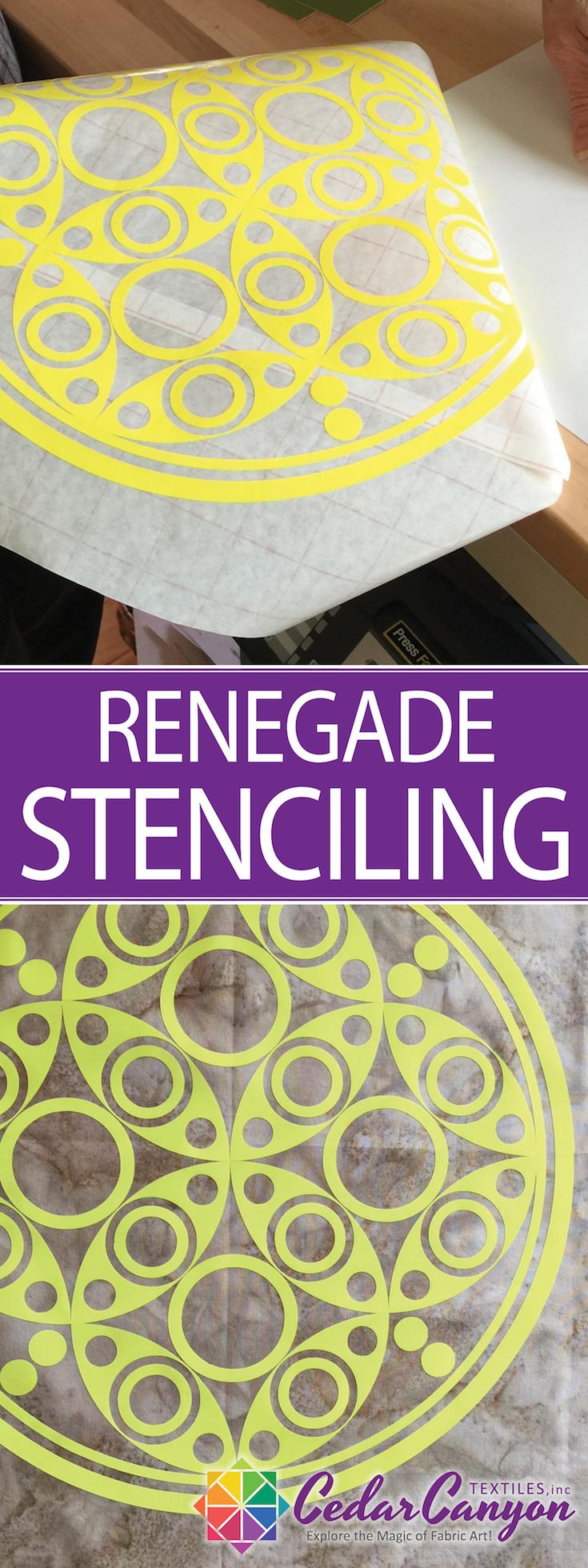 Rengade Stenciling