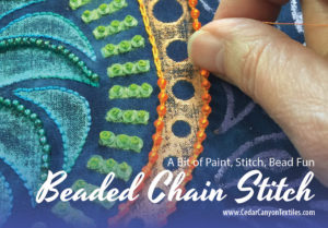 Beaded Chain Stitch