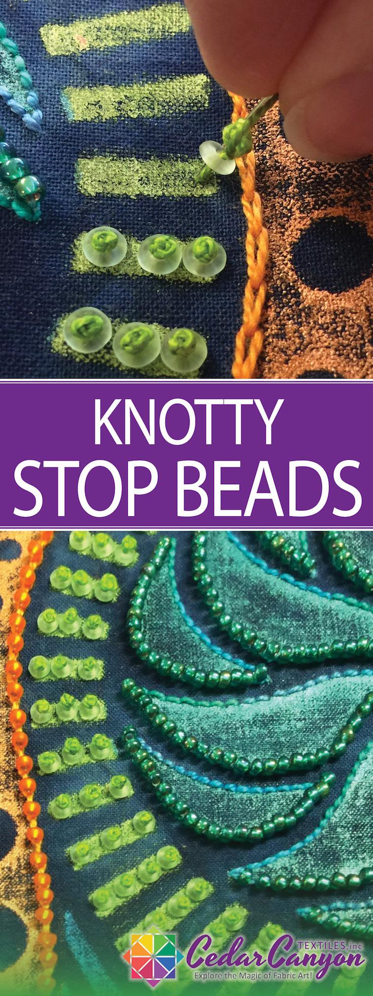 Knotty Stop Beads