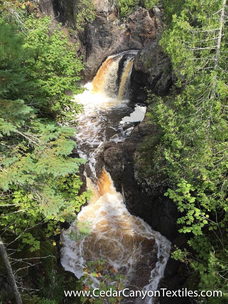 Temperance River water falls