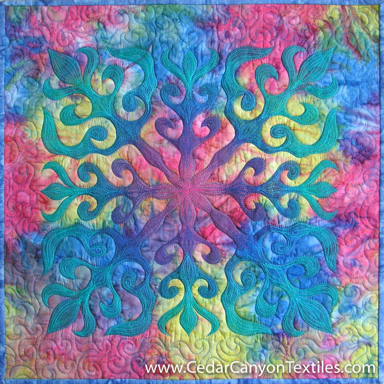 water-lily-quilt-6