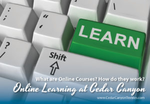 Online Courses at Cedar Canyon Textiles