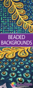 Try A Beaded Background