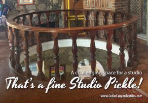 A Studio Pickle at the Castle