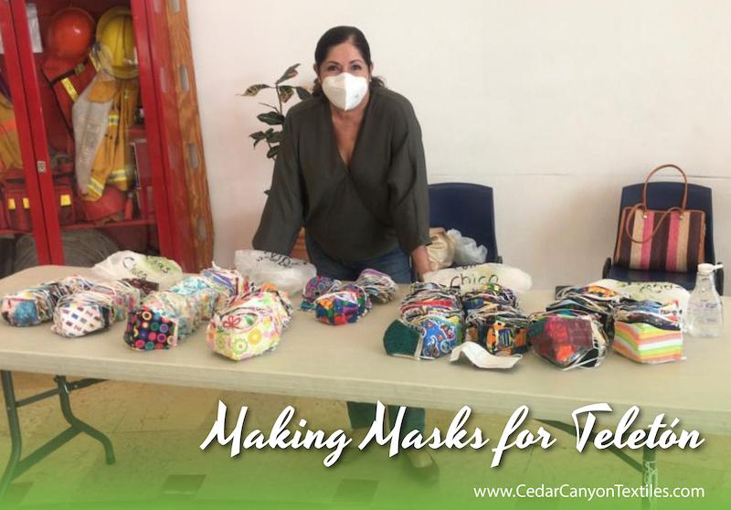 Masks for Teletón Guadalajara