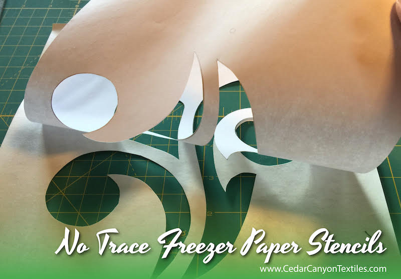 6 Steps for No Trace Freezer Paper Stencils