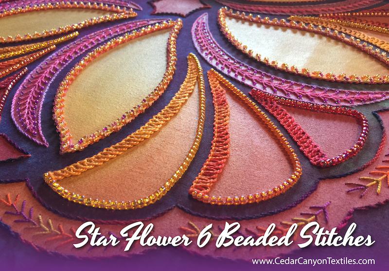 Beautiful Beaded Stitches for StarFlower 6