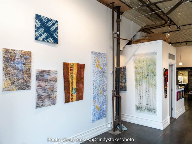 Carolyn Abbott's art pieces